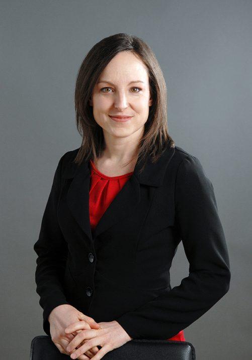 Portrait d'Isabelle Charbonneau, Directrice de compte
